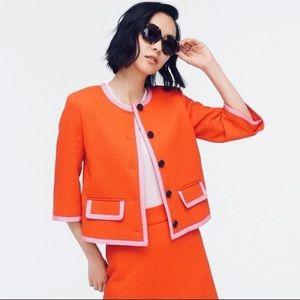 J. Crew Orange Pink SP '20 Mod Jackie O Inspo